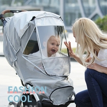 Universal Dust Shield Fly Insect Protection UPF50+ Full Cover for Baby Stroller