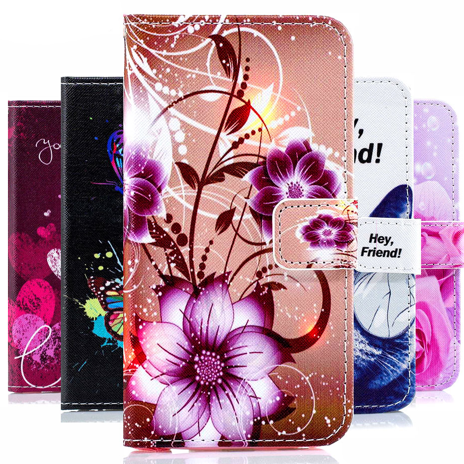 Leather Phone Case For Samsung Galaxy J3 J5 2016 J7 Flip Cover Case Wallet Stand Funda For Samsung J5 2015 Case image