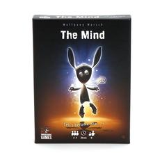 The Mind Card Game Puzzle Card Game Card Party Game Board Games Card Team Experience Interactive Toys For Children Adult card o ender s game