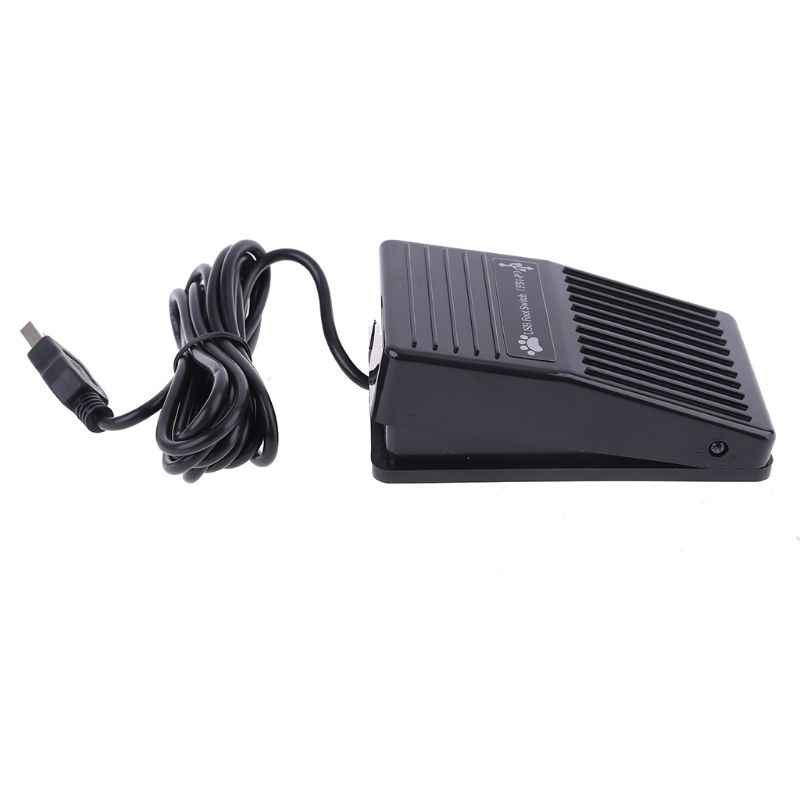 Chaomin Metal USB Single Foot Switch Pedal Control Keyboard Mouse PC