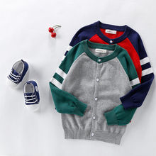 Kids Sweaters Charming-Cardigan Bottoming-Buttons Knitting Baby-Boys-Girls Winter Children
