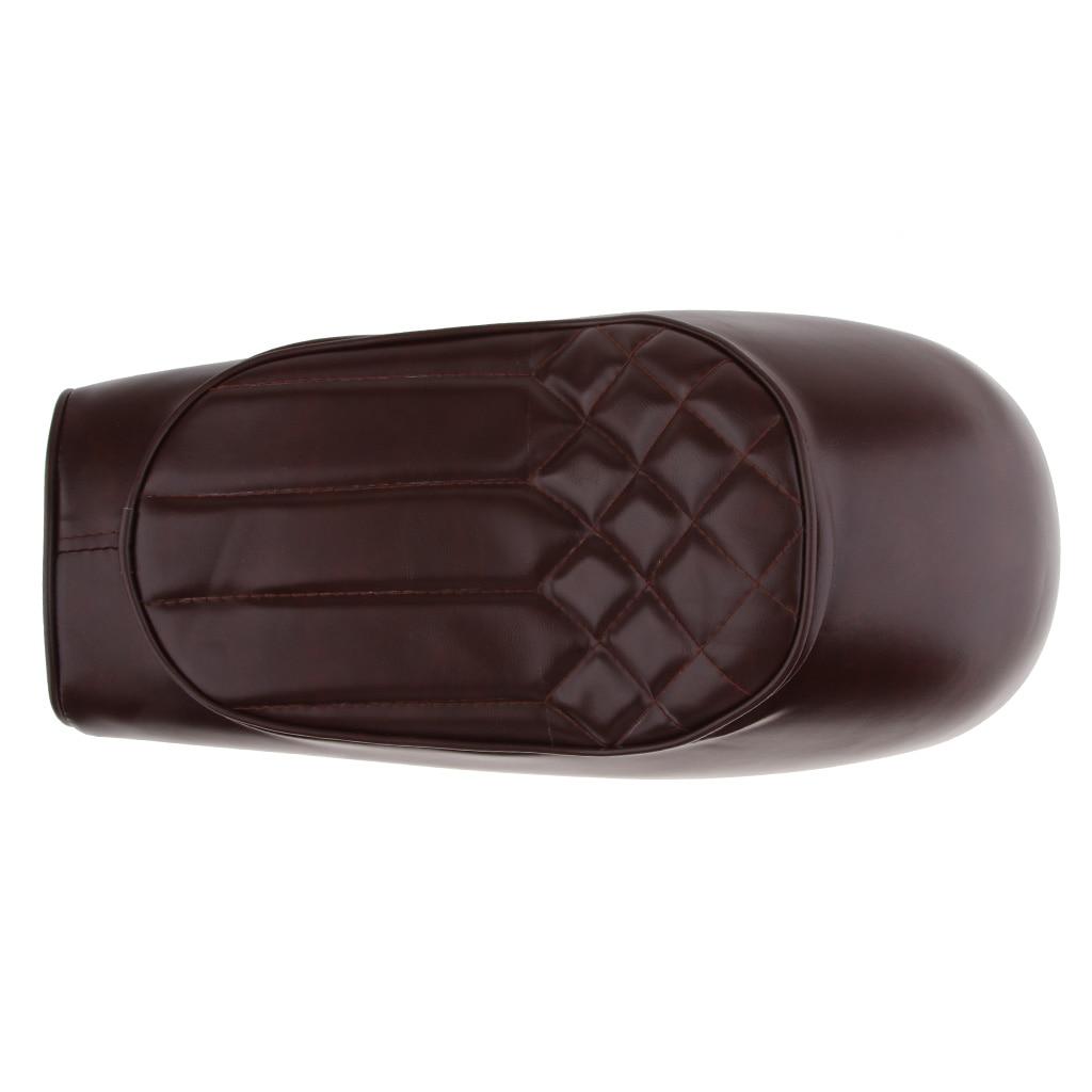Motorcycle Rear Passenger Cushion - Pillion Seat Pad Suction Cups- Universal