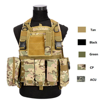 Hunting Vest Tactical-Vest Chest-Rig Police Body-Armor Military-Combat Airsoft Cp Camo