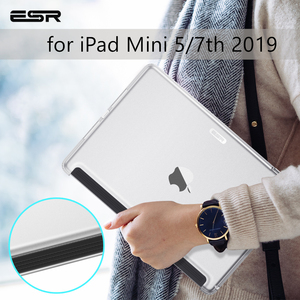 ESR Case for iPad Mini 5 7 Gen 7th 10.22019 Clear Hard Match Keyboard Smart Cover Slim Transparent Back Case for iPad mini5 7.9(China)