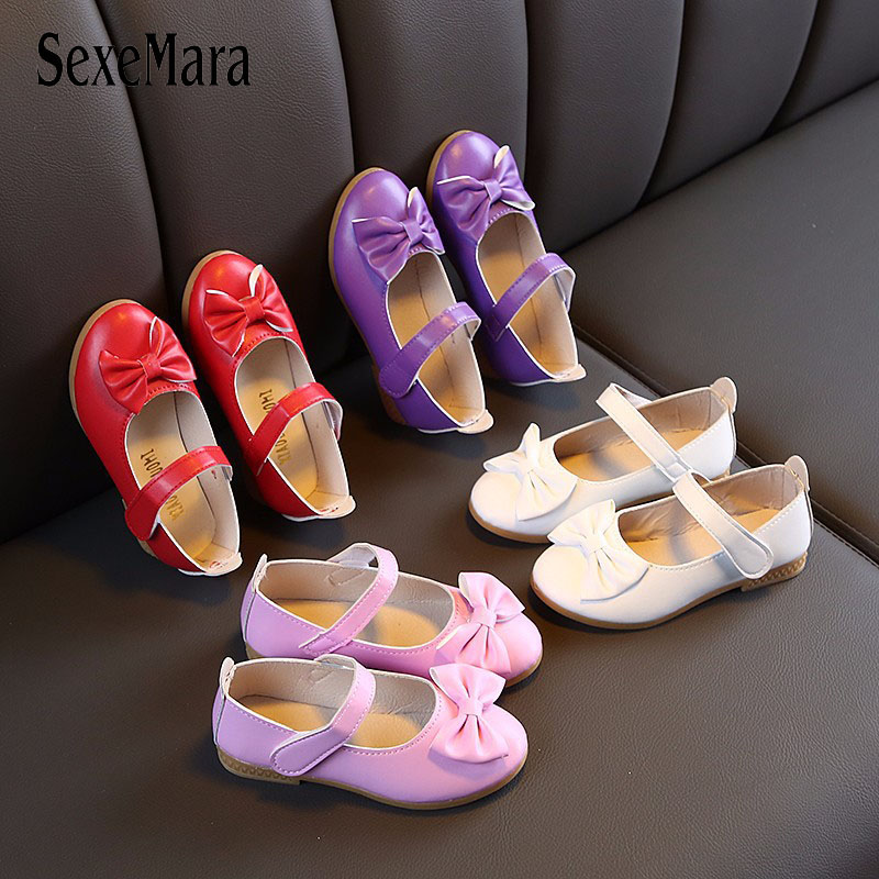 2020 Girls Summer Sandals Baby Girl Toddler Kids Shoes With Sweet Princess Soft Children's Beach Shoes Purple Pink White C03231