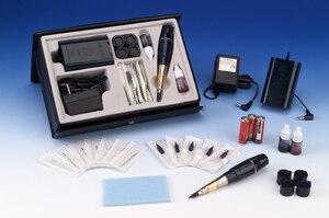 Image 3 - free shipping Battery Original Taiwan Giant sun G 8650 permanent makeup machine attoo machine Professional G8650 Tattoo gun