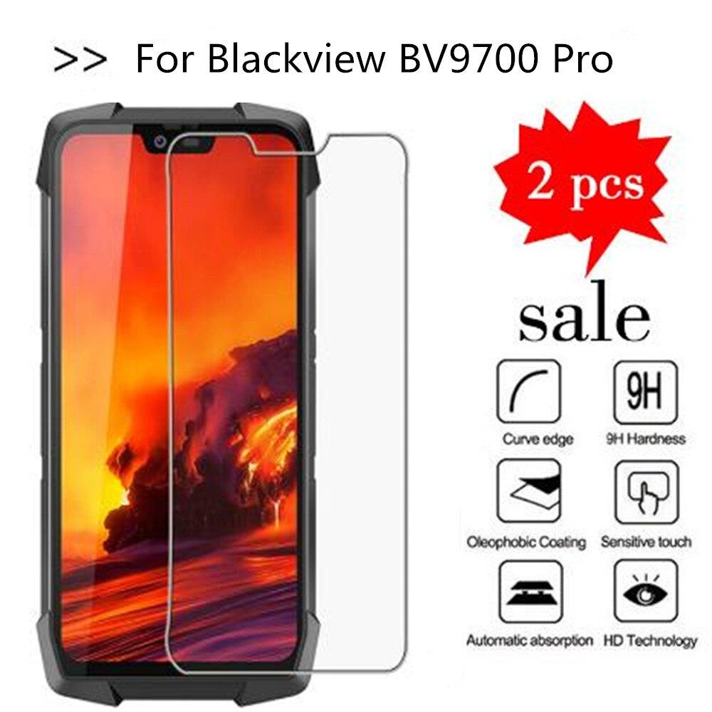 2PCS Glass For Blackview BV9700 Pro Screen Protector Tempered Glass For Blackview BV9700 Pro Glass 5.84