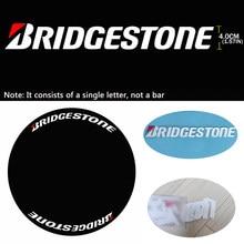 Letras de etiqueta para a motocicleta do carro carta adesivos personalizado moda modificado carro pneu adesivos bridgeston logotipo