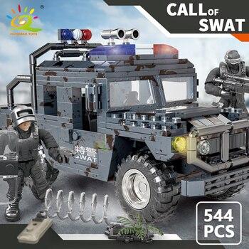 """Конструктор HUIQIBAO """"Военный грузовик"""", 544 шт. 5"""