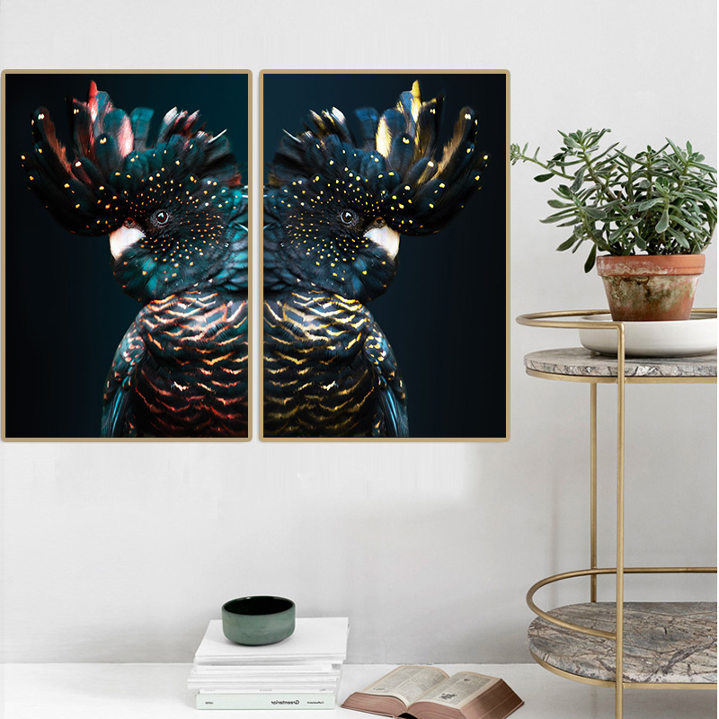 canvas-print-Painting-wall-art-Cockatoo-Animal-Posters-Children-s-room-bedside-decoration-picture-American-Modern (1)