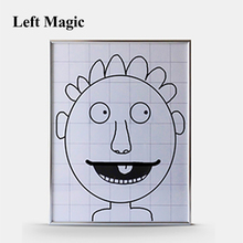 Magic Ultimate Frame Abdomen Frame (Small,36cm*28cm) Magic Tricks Magician Stage Illusion Gimmick Props Comedy Mentalism Magie