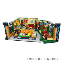 In Stock New Classic TV Series American Drama Friends Central Perk Cafe Model Building Block Figures Brick 21319 Toy Gift Kid