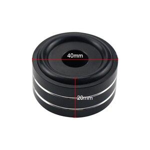 Image 4 - GHXAMP 4 шт. 40*20 мм настольный акустические шипы ламповый усилитель компакт диск DAC DVD плеер Полный алюминиевый ноготь ЧПУ высококачественный алюминий