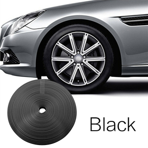Image 5 - Car Accessories Universal 8M Car Sticker Decal Rim Rubber Strip Protection Color Car Tire Decorative Protector Car Styling TSLM2