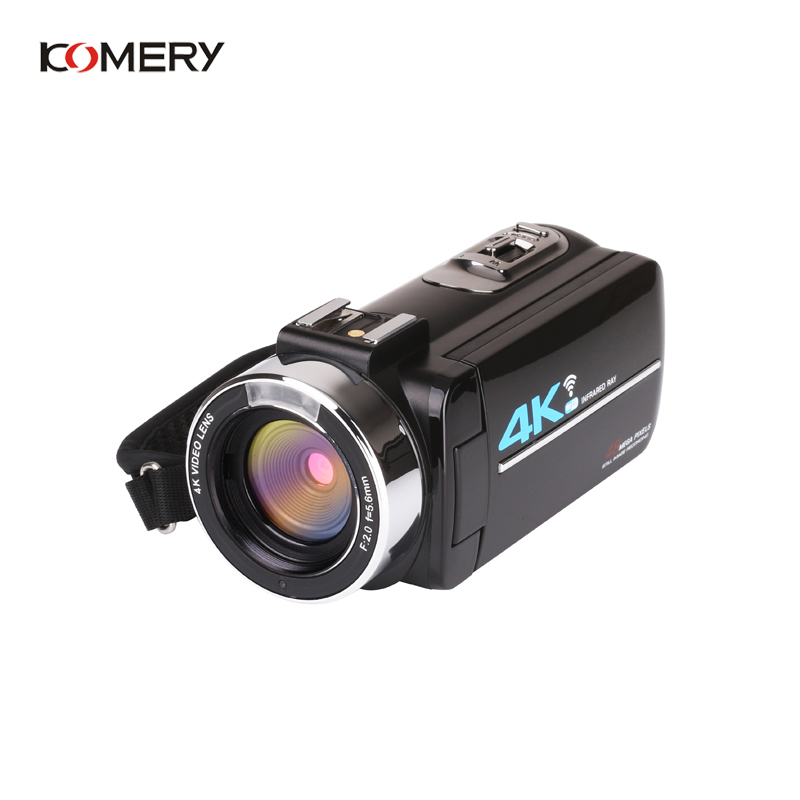 KOMERY Nieuwkomers 4K 48MP Video Camera 3.0 In HD Touch Screen/Nachtzicht/Wifi Externe Microfoon /Flash/Hdmi uitgang/Infrarood - 4