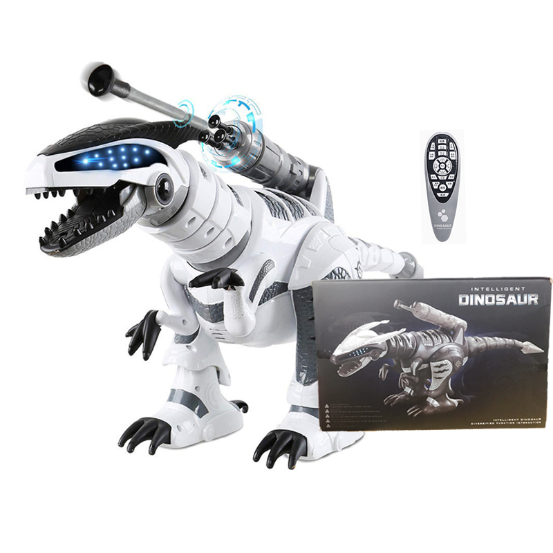 RC Robot Dinosaur Intelligent Interactive Smart Toy Electronic Remote Controller Robot Walking Dancing Singing Fight Mode Toys