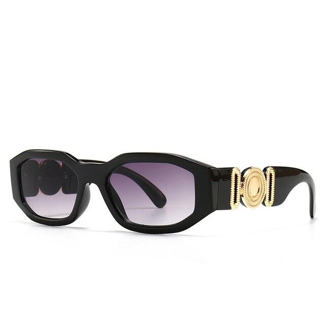 Vintage Steampunk Brand Design Luxury Small Frame Sunglasses Men Women Fashion Square Sun Glasses Shades UV400 Vintage Glasses 6