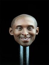 1/6 Scale Male Star Basketball Man Head Kobe Bryant Head Sculpt  F 12