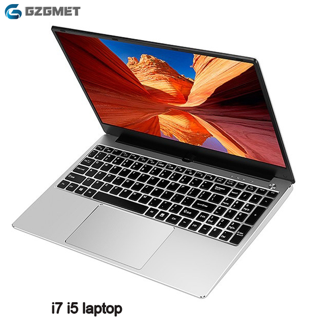 Cheap Gaming Laotop  15.6 Inch Intel Core I7 I5 8GB 1TB  SSD 128GB/256GB Windows 10 Netbooks Laptop Computer 1