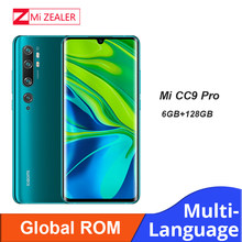 Global ROM Xiao Mi Mi CC9 Pro Ram 6GB + 128GB ROM 108MP Penta Kamera 5260 M Ah baterai Snapdragon730G Ponsel(China)