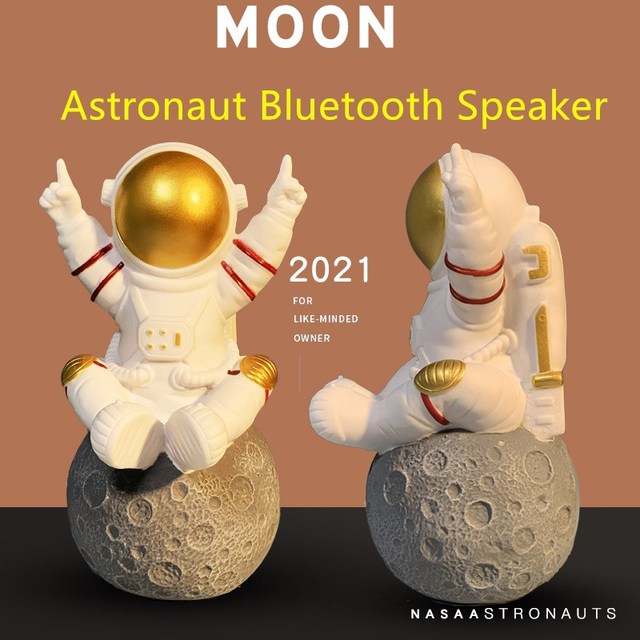 Astronaut Bluetooth Speaker Portable Wireless Column Stereo Super Bass Music Center System Subwoofer For Computer with FM USB TF