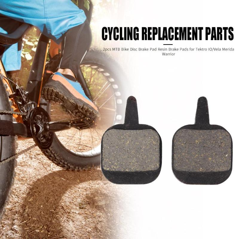 2pcs Bicycle Resin Disc Brake Pads Mountain MTB Road Bike Resin Organic Disc Pad