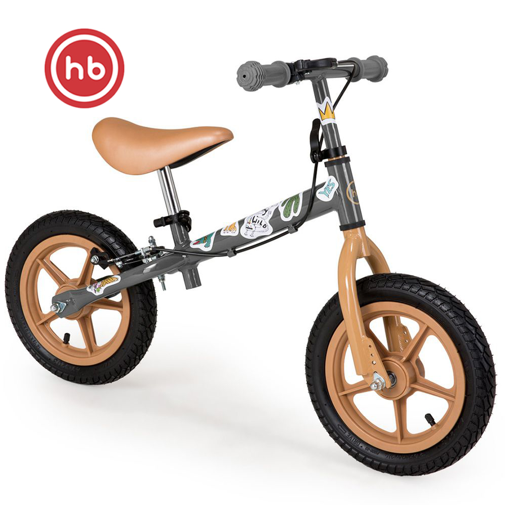 Bicycle Happy Baby 50001 children's Bicycle balance bike for boys and girls for children Running bike begovel dark green Green Kids' Bike