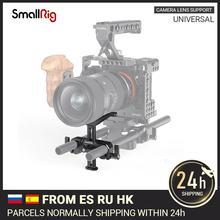 SmallRig 15Mm LWS Universal เลนส์สนับสนุน15Mm Rod Clamp สำหรับกล้องเลนส์ Y Shaped Bracket 53.5มม.ปรับ 2681