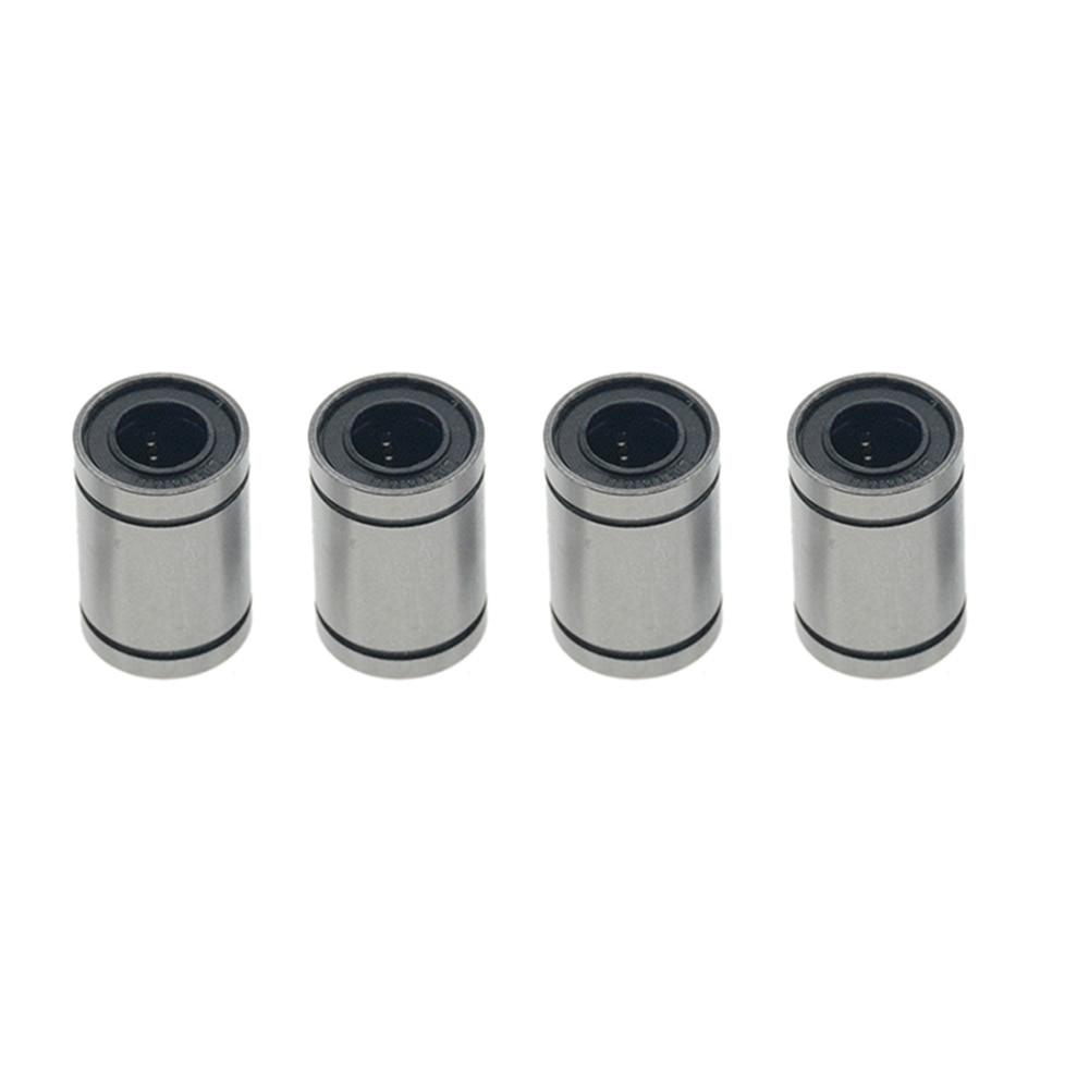 4PCS LM8UU Linear Bearings LM3UU LM4UU LM5UU LM6UU LM10UU LM12UU LM13UU LM16UU LM20UU Linear Bushing 8mm CNC Shaft Parts
