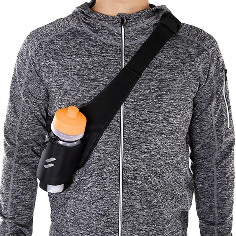 Cycling Water Bottle Waist Bag Adjustable Messenger Pouch For Mountain Bikes Running Hiking Climbing Sports