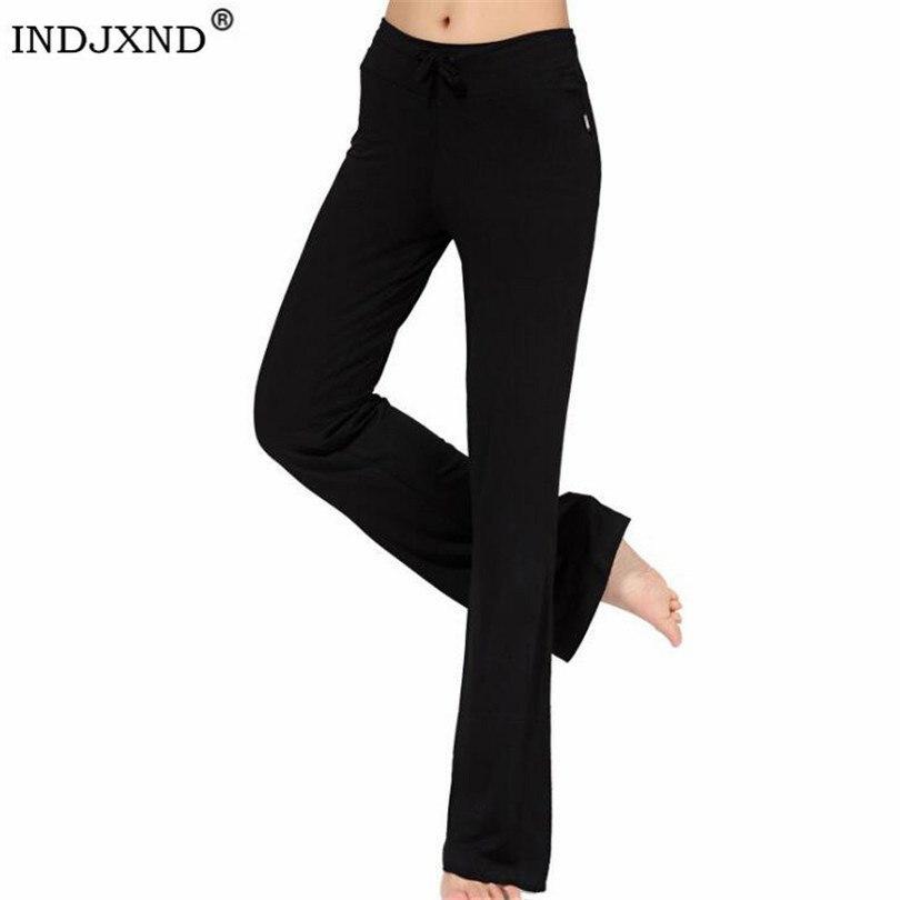 Women Black Dancing Trousers Loose Harem Pants High Waist Workout Yuga Sportswear Modal Pant Full Length Pantalones Baggy K164
