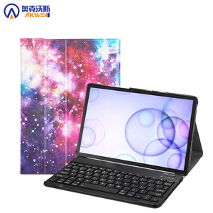 Image 1 - حافظة لهاتف سامسونج جالاكسي تاب S6 10.5 2019 غطاء لوحة مفاتيح قابل للإزالة للوحة المفاتيح اللاسلكية SM  T860 T865