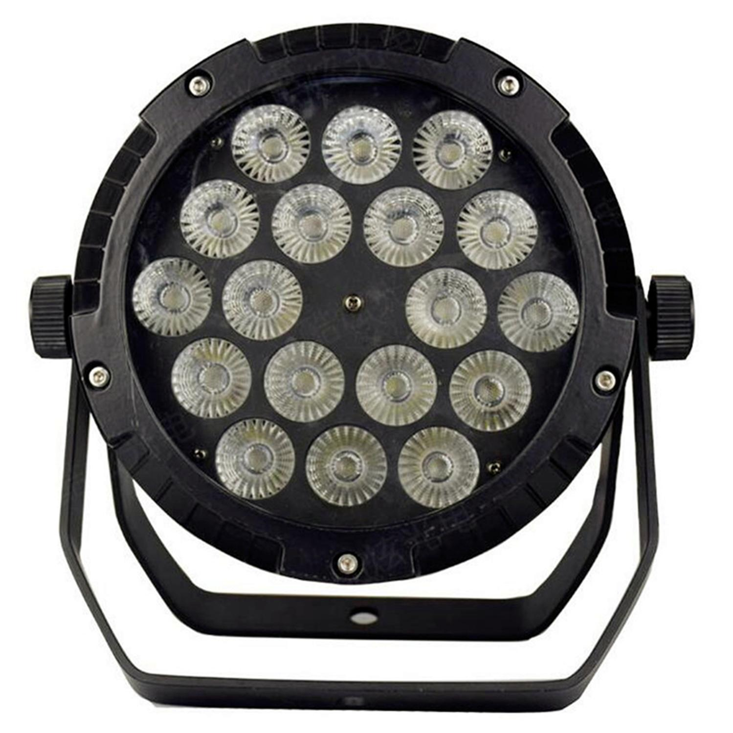 18x18W RGBWA UV 6IN1 18X12W IP65 wasserdichte <font><b>led</b></font> <font><b>Par</b></font> Lichter, RGBW 4in1 <font><b>LED</b></font> <font><b>PAR</b></font> DMX control bühne DJ equipment disco lichter image