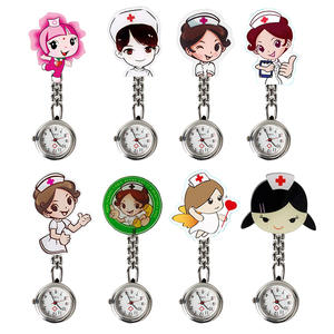 Clock Brooch-Accessories Fob-Watch Pocket Female Harajuku Cute Nurse Chest-Trend New