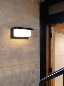 OREAB Light-Control Wall-Lamps Porch-Lighting Motion-Sensor Exterior Outdoor Ip65 Waterproof