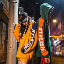 Spring Autumn Hip Hop Streetwear Couple Hoodies Women Fashion Sweatshirt Lovers Harajuku Loose Casual Warm Pullovers