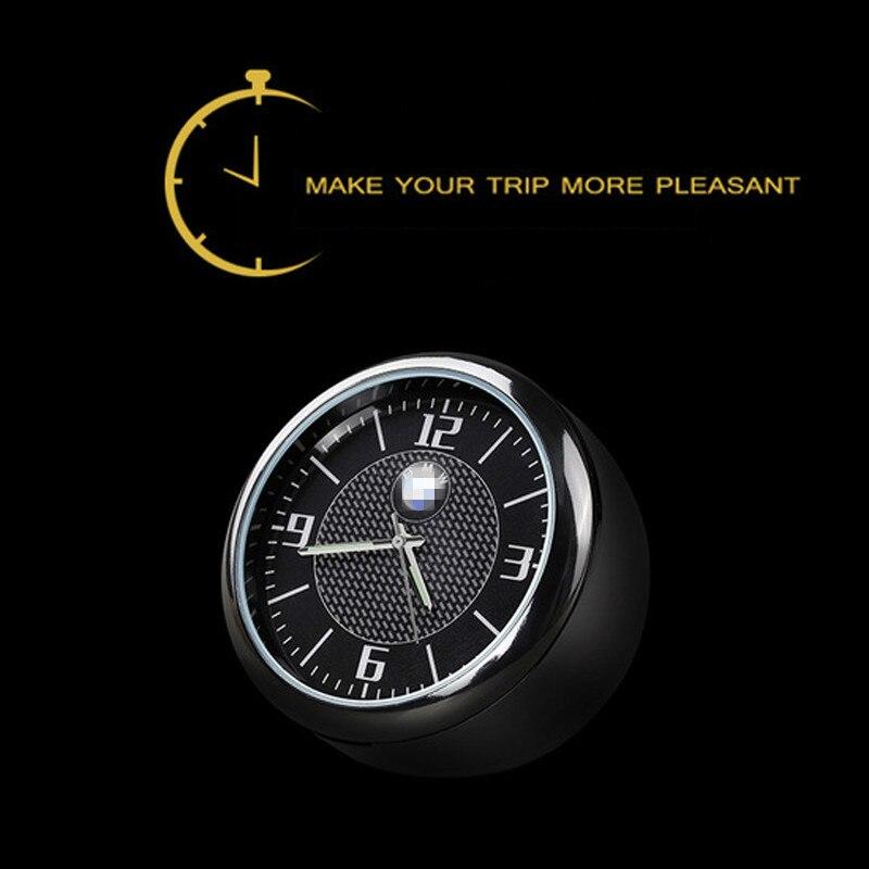 New Arrival For BMW Audi Volkswagen Mercedes Honda Ford Toyota Peugeot Car Clock Luminous Table Refit Interior Quartz Watches
