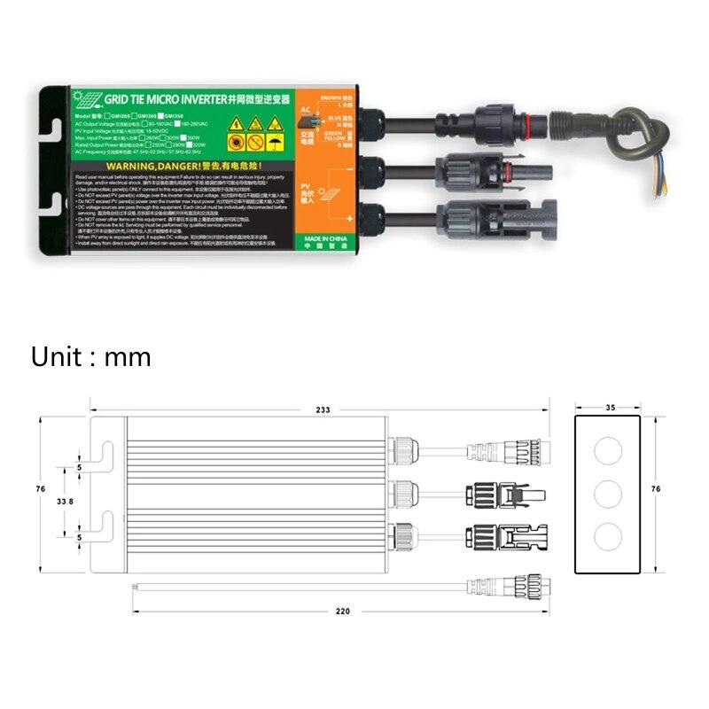 ip55 solar do laco da grade micro 04