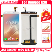 100% מקורי עבור DOOGEE X30 LCD & מסך מגע Digitizer עם מסגרת תצוגת מסך מודול תיקון החלפת אביזרים