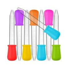 Pipette Dropper Liquid Experiment-Supplies Feeding-Medicine School-Lab Silicone Plastic