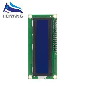 Image 2 - 10Pcs LCD1602 1602 Lcd Module Blauw/Geel Groen Scherm 16X2 Karakter Lcd Display PCF8574T PCF8574 Iic i2C Interface 5V