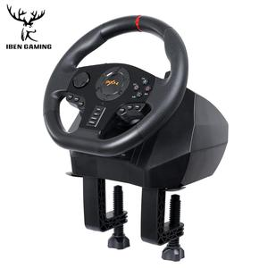 Image 3 - Gaming Steering Wheel Pedal PXN V900 Gamepad Racing Game Steering Wheel Pedal Vibration For PC/PS3/4/Xbox One/Xbox /Switch 90°
