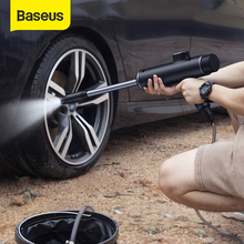 Baseus Auto Waterpistool Hogedrukreiniger Auto Washer Spray Auto Wasmachine Elektrische Cleaning Auto Apparaat Styling