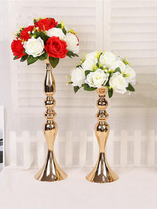 Road Centerpiece Flowers Simulation-Rose Wedding-Fabric Home-Decoration Plastic Flores