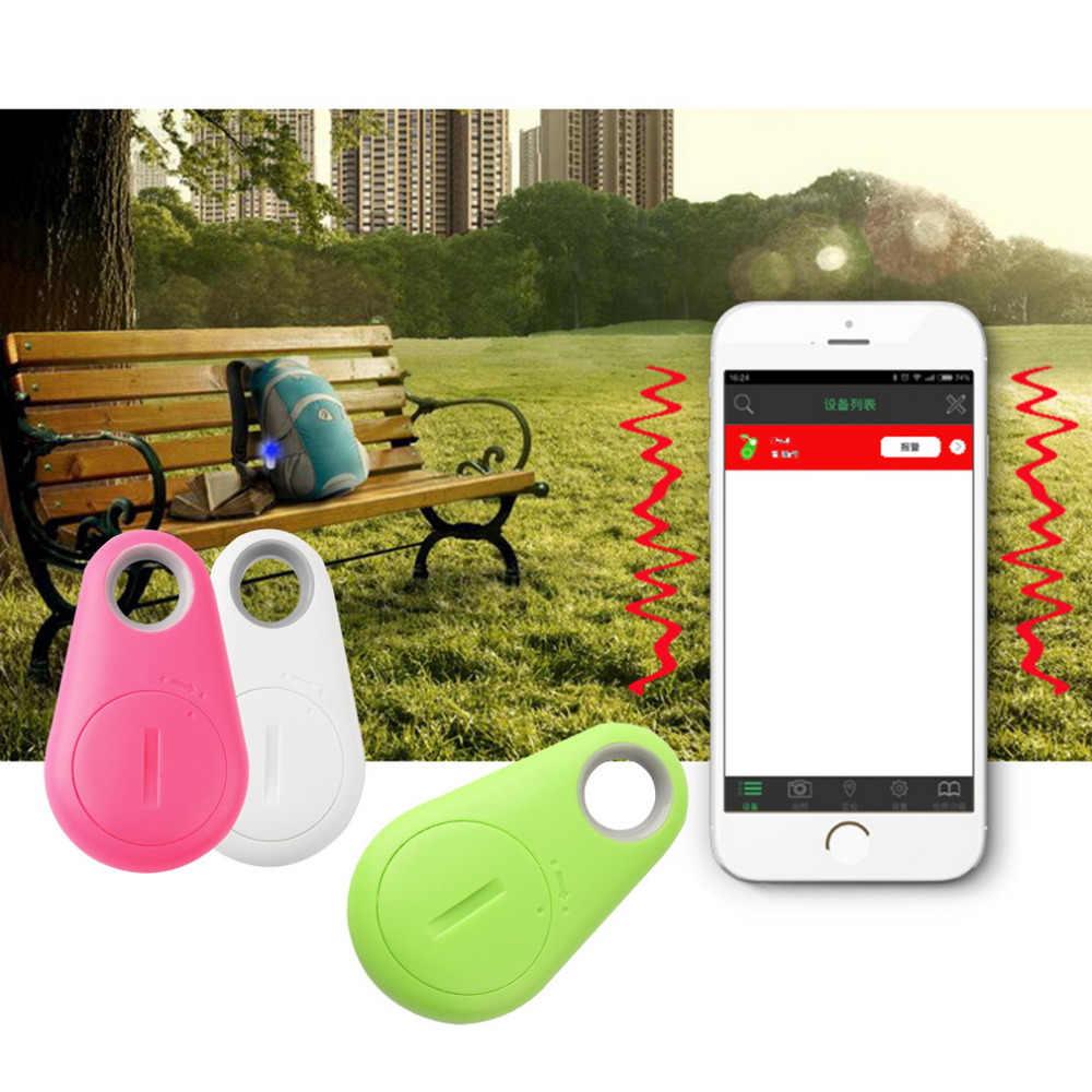 Mini Anti-perso Bluetooth 4.0 GPS Tracker Localizzatore Tag Allarme Portafoglio Chiave Pet Dog Finder Formato Tascabile di Smart Tracker dropshipping