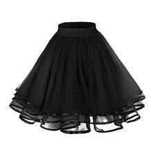 Nữ Vintage Petticoat Tutu Petticoat 3 Tầng Nơ. Sinh Nhật Giáng Sinh Hàng Ngày Đầm