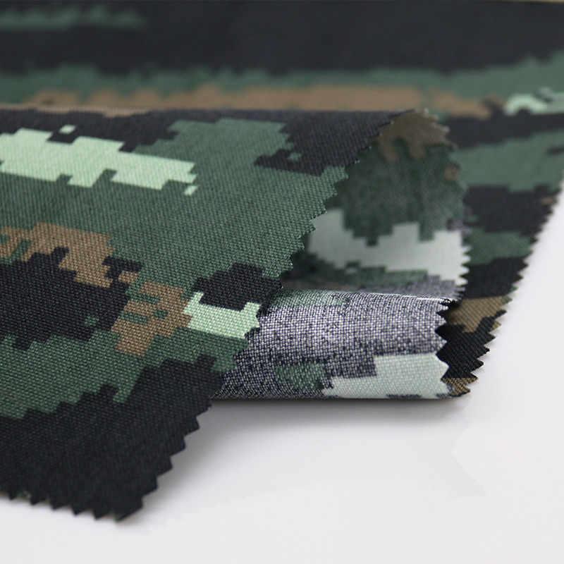 Tela de camuflaje Tigre Rayas táctico Bionic ropa de sarga de algodón 1.5 M Ancho