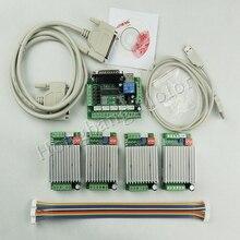 CNC Router 4 Axis Kit,TB6600 4 Axis mach3 Stepper Motor Driv