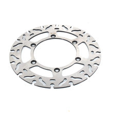 Motorcycle Steel  front brake Disc Rotor For Yamaha TTR250 DT200 DT230 WR200 free shipping pivot peg foot pegs for yamaha ttr250 xt250 xg250 dt230 dt200 o3