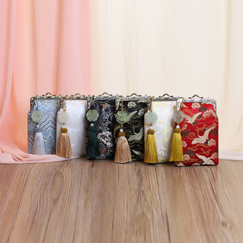 Design silk mobile phone bag, Women's Handbags ,Original bags for women,Silk Handmade Bag,сумка женская,sac femme